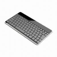 Cheap Bluetooth Keyboard for iPad/iPhone, with 84 Keys, 17 Pad Hot Keys, Measures 242 x 126.5 x 7mm wholesale
