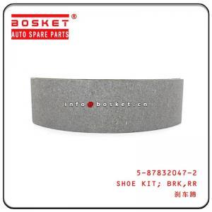 Cheap 5-87832047-2 5878320472 Rear Brake Shoe Kit For ISUZU 4HK1 NPR wholesale