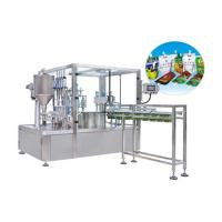 Cheap Fully Automatic Stand Up Pouch Zip Bag Liquid Packing Machine HT-ZGY1000 wholesale