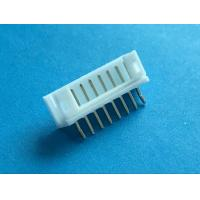 Cheap White Color PCB Board Electrical Connector 3.96mm Pitch Pin -25°C - +85°C Working Temperature wholesale