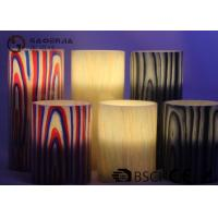 Cheap Multi Color Real Wax Flameless Candles Set Of 2 For Home Decoration wholesale