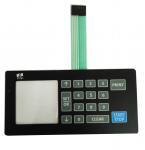Cheap Dome Foil Keypad Switch , Flexible PCB Membrane Keypad High Durability wholesale