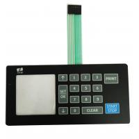 Cheap Dome Foil Keypad Switch , Flexible PCB Membrane Keypad High Durability wholesale
