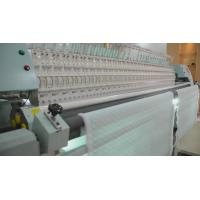 Cheap 34 Heads Quilting And Embroidery Machine , Computerized Quilt Making Machine For Textile wholesale