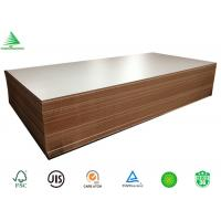 Buy cheap Guangzhou supplier wholesale good quality E1 4X8 18mm titanium white melamine faced mdf board from wholesalers