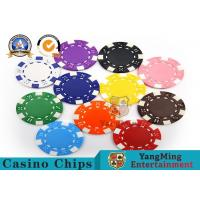 Cheap PMS Printing Casino Poker Chips Abs Plastic Inner Steel Core Environmental Protection Material wholesale