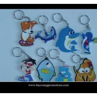 Cheap NEW Design 3D Cartoon PVC Keychain/key ring/keyring for promotional gifts wholesale