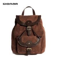 Buy cheap Canvas Lining Leather Backpack Handbag Embossed Logo For School Boys from wholesalers