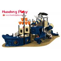 Cheap Small Pirates Ship Theme Children ' S Outdoor Playground Equipment For Kids wholesale