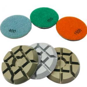 Cheap 3 Inch Dry Diamond Polishing Pads For Concrete wholesale