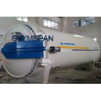Wood Glass Laminating Autoclave Door , Pressure In Autoclave By Plc Automatic Control