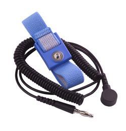 Cheap Antistaic Removable alligator clip adjustable wrist strap wholesale