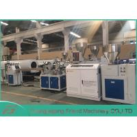 Cheap Professional PVC Sheet Extrusion Line , 80mm Width White PVC Sheet Extruder wholesale