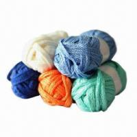 Cheap Fancy Yarn for Knitting, Made of 100% Acrylic, Used for Making Scarves  wholesale