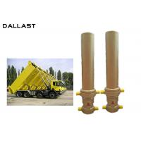 Cheap 3 / 4 Multi Stage Telescopic Dump Truck Lifting Hydraulic Cylinder wholesale