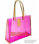 Cheap moisture proof eva school bag pu shoulder bag flat handle plastic bag, eve handle bags, pvc handle bags, striated bag wi wholesale