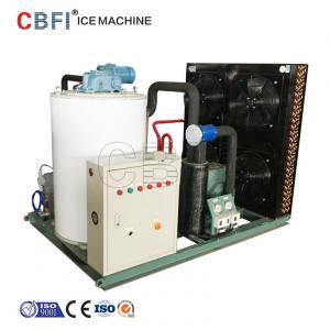 Cheap Fresh Water Salt Water Small Flake Ice Machine / Ice Machine Restaurant wholesale