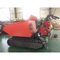 Buy cheap ED300C Gasoline Easy work agricultural crawler tracked dumper mini for sale from wholesalers
