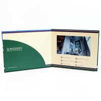 Cheap Video in folder Free Sample Limited Automatic opening veremonies lcd video brochure card with multimedia effect wholesale