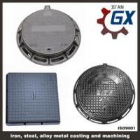 Cheap Buy Sewer Heavy Duty Ductile Iron Square And Round Manhole Cover And Frame En124 d400 wholesale