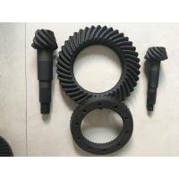 Cheap High Rigidity Crown Wheel And Pinion Gear , Spiral Differential Ring Gear wholesale