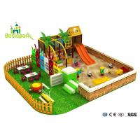 Cheap Amazing Fun Infant Indoor Playhouse , Large Structure Indoor Play Zone wholesale