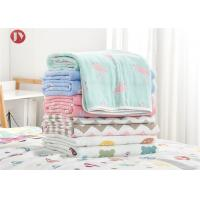 Cheap Organic Cotton Bamboo Baby Muslin Swaddle Blankets , Muslin Baby Blankets wholesale
