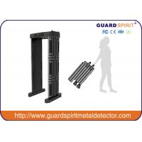 Cheap Adjustable  High sensitivity Full Body scanner / security metal detector gate ROHS / FCC for school for sale