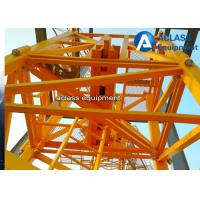 Construction Site Inner Climbing Tower Crane Lifting Capacity 6 Tons QTZ63 Model