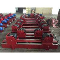 Cheap Manual Screw Pipe Welding Rollers With 2x0.55Kw Motor Power , CE Certification wholesale