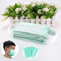 Cheap Skin Friendly 3 Layer Medical Face Mask 17.5x9.5cm High Filtration Capacity wholesale