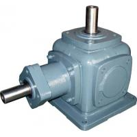 Cheap High Torque Cast Iron Spiral Bevel Gearbox , Variable Speed Reduction Gear Box wholesale
