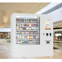 Buy cheap mini mart tea coffee cosmetic Vending Machines with 22 Inch Touch Screen Display from wholesalers