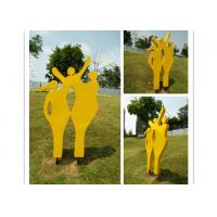 Cheap Happy Family Outdoor Stainless Steel Garden Sculptures Mother And Child Sculpture wholesale