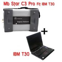 Cheap Mercedes Benz Star C3 Diagnostic Tool with IBM T30 for Mercedes Benz Cars and Trucks, Multi-Language wholesale
