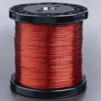 Cheap SWG29 Aluminium Enameled Copper Wire pew 155 with 110MP strength wholesale