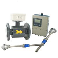 Cheap IP65 / IP67 / IP68 Divided Type Electromagnetic Flow Meter in High temperature wholesale