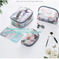 Cheap Travel Luggage Pouch Custom Clear Transparent PVC Travel Toiletry Bag Make Up Cosmetic Bag,Vinyl Wash Beauty Cosmetic Tr wholesale