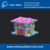 Cheap Thin wall packaging mould with in mold label,Thin Wall Plastic mould with IML, IML molding wholesale