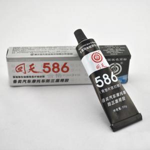 Cheap No odor 586 Black rtv silicone sealant / black silicone gasket maker wholesale