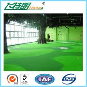 Buy cheap Green Outdoor Artificial Grass Carpet Backyard Turf NET Flat Shape 3'' / 4'' from wholesalers