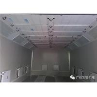 Turbo Fan Water Based Spray Booth Coating Separate Control Temperature