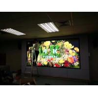 Cheap Video Full Color Indoor Led Screens , led wall display screen Front Rear service wholesale