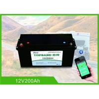Buy cheap 12V200Ah Lithium RV Camper Battery 150A Discharge With High Inrush Current from wholesalers
