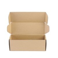 Cheap Kraft Paper Box Candle Packaging Boxes Corrugated Cardboard Box wholesale