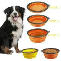 Cheap Dog Feeder Eco Friendly Dog Products Food Collapsible Bowl Silicone Travel Pet Water wholesale