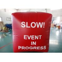 Buy cheap Inflatable Swim Buoys , Inflatable Buoy for Ocean Or Lake Advertising Water Games from wholesalers