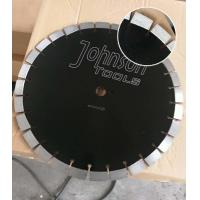 Cheap 430mm Green Diamond Concrete High HP Floor Saw Blades In Heavy Cutting Operations with Key Slot wholesale