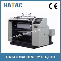 Cheap Automatic NCR Paper Reel Slitting Rewinding Machine,Thermal Paper Slitter Rewinding Machine,Bond Paper Slitting Machine wholesale