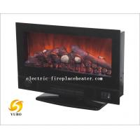 Cheap Contemporary 2 In 1 Wall Mount Electric Fireplace Stove Heater For Office / Home wholesale
